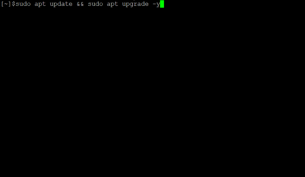 ubuntu upgrade and update command