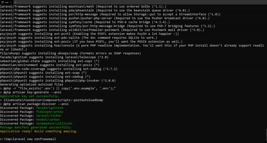 Setting up Laravel new command.png